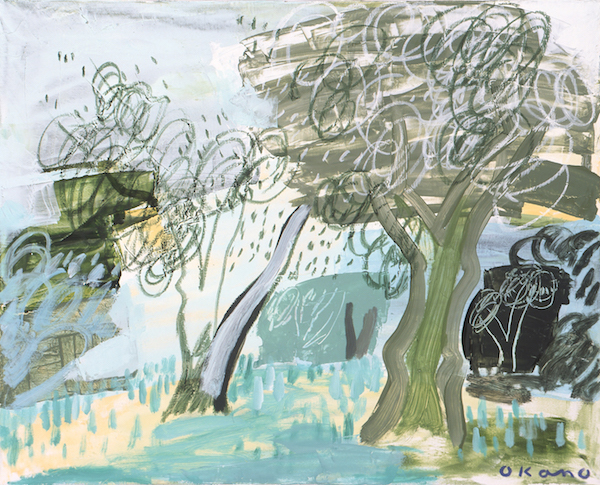 ルノワールの家の木