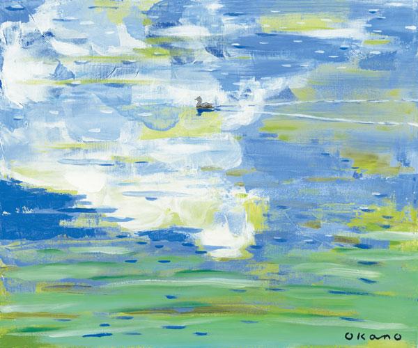 雲の中を泳ぐ鳥