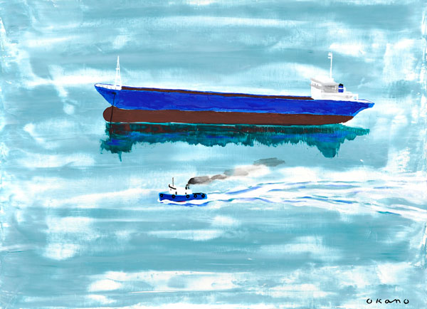 急ぐ船休む船