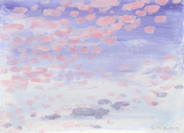 散りばめられた雲
