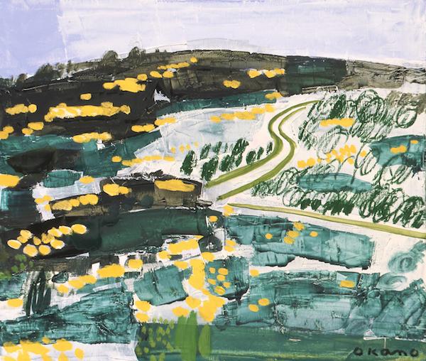ミモザの咲く丘