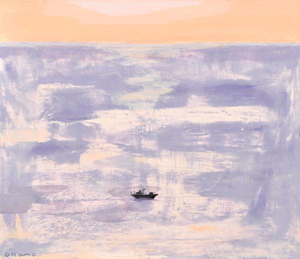 海原の小舟