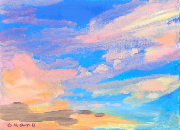 バラ色の雲
