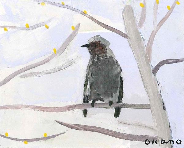 庭にきた鳥