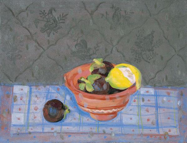 レモンとマンゴスチン