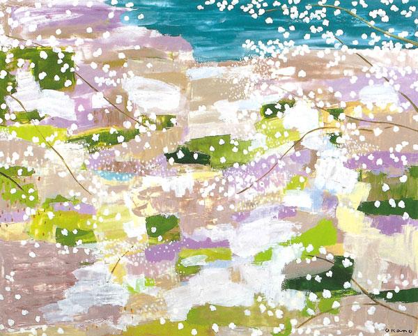 吉野に咲く花