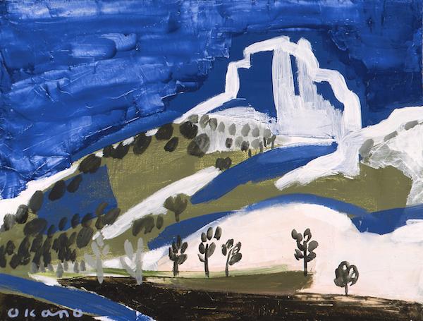 プロヴァンスの岩山