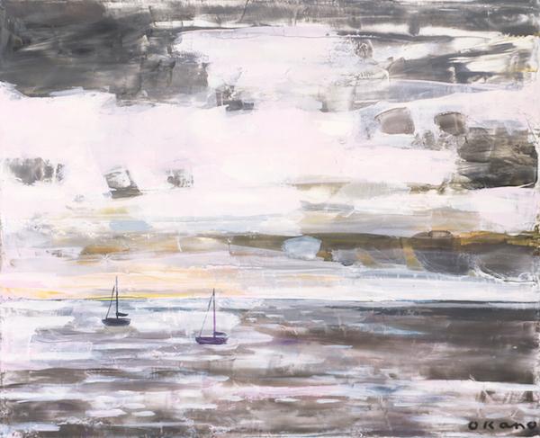 アンチーブの海・朝